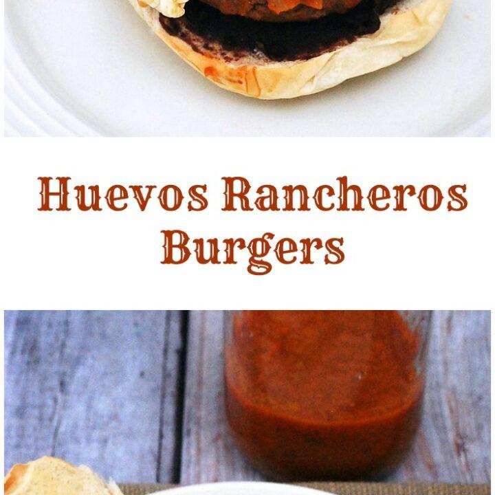 Huevos Rancheros Burgers #BrunchWeek