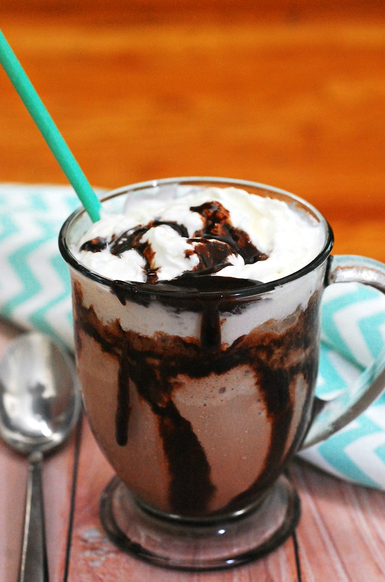 #BrunchWeek isn't complete without a decadent drink, like a mocha frappe: a blended drink with coffee and chocolate, topped with whipped cream. theredheadbaker.com