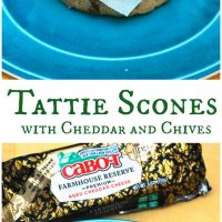 Tattie Scones with Cheddar and Chives #BrunchWeek