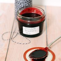 Chocolate Blackberry Preserves #SundaySupper