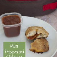 Mini Pepperoni Calzones #SundaySupper
