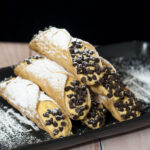 These aren't your traditional cannoli — pumpkin cannoli combines mascarpone, pumpkin and spices for an easy yet impressive no-bake dessert. #PumpkinWeek