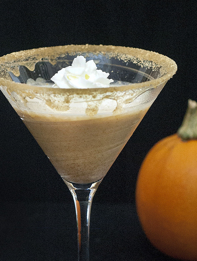 Pumpkin Pie Martini #PumpkinWeek