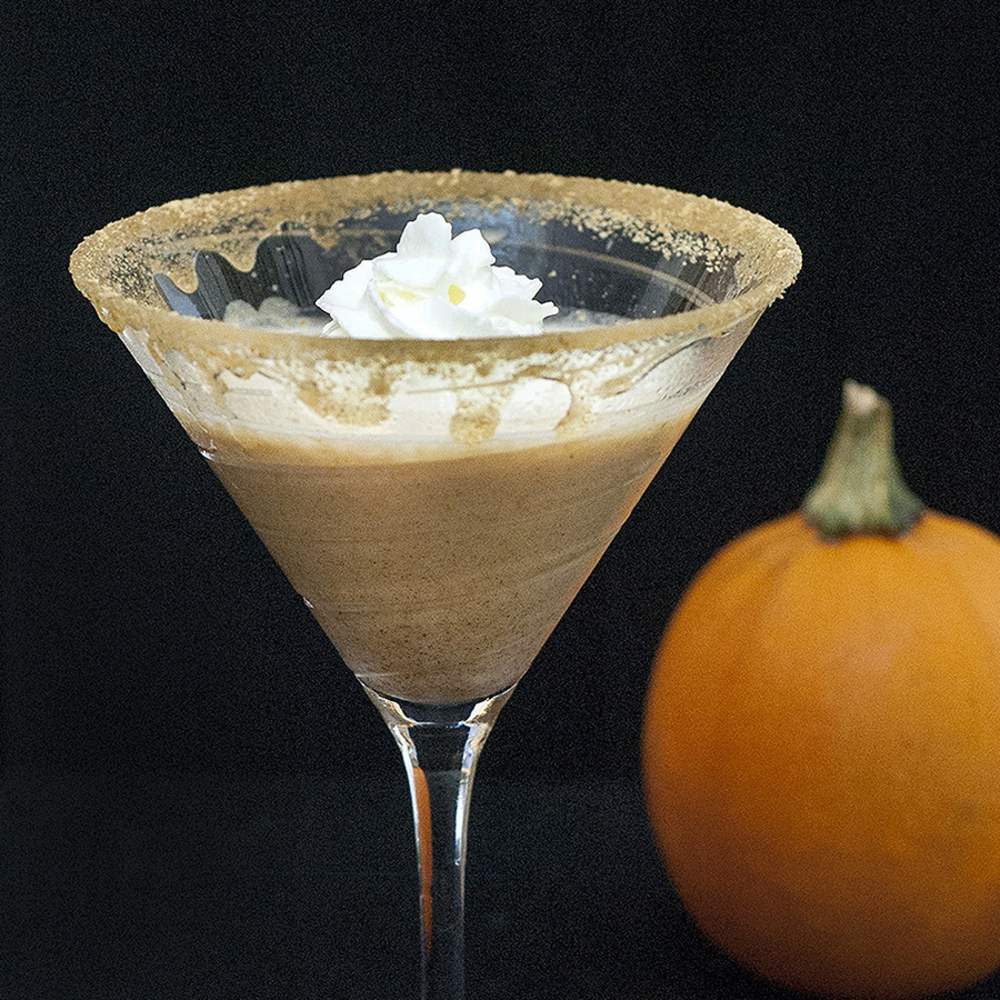 Pumpkin Pie Martini #PumpkinWeek