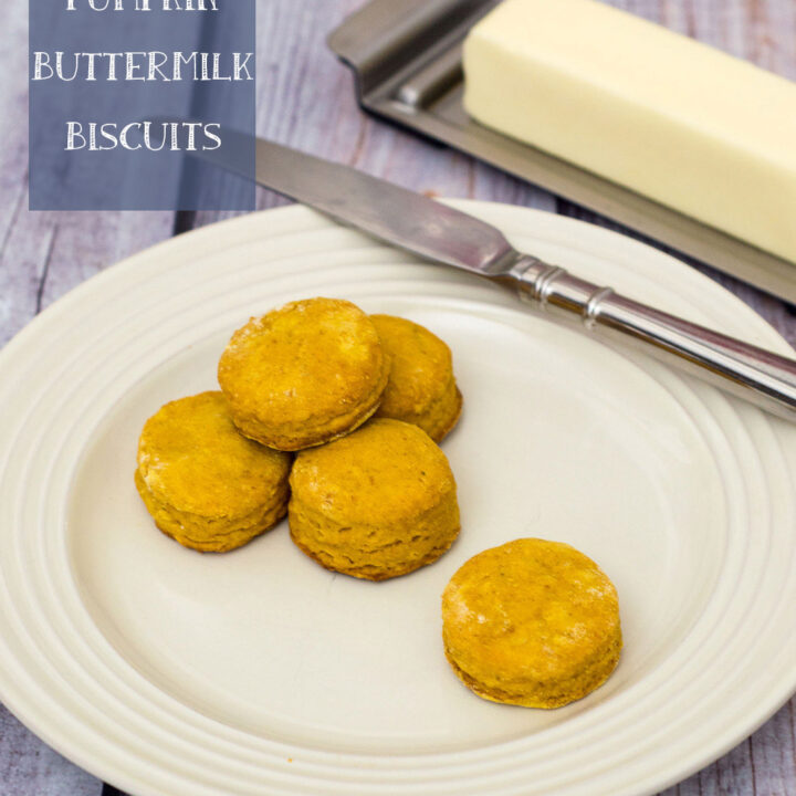 Pumpkin Buttermilk Biscuits #TwelveLoaves