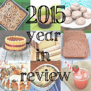 I'm wrapping up the year with a review of the most popular recipes from 2015! Did your favorite recipe make the list?