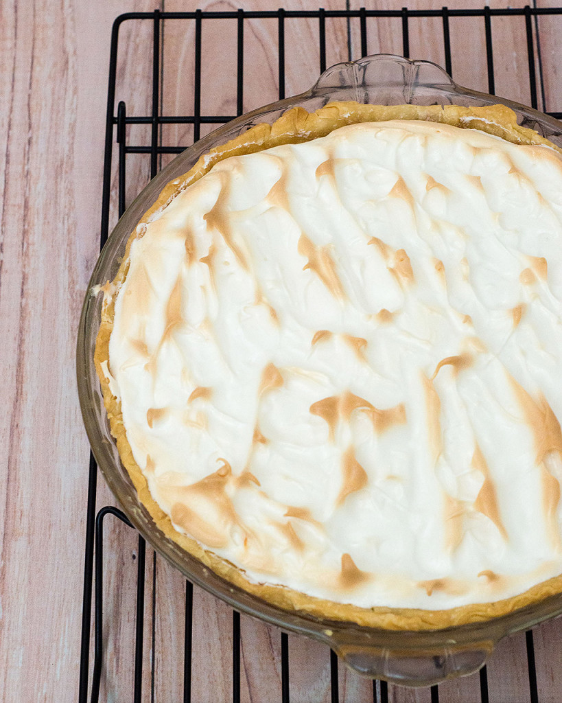 If you like lemon meringue pie, you'll love this holiday cranberry meringue pie, which uses cranberry curd filling instead of lemon, topped with sweetened whipped egg whites.