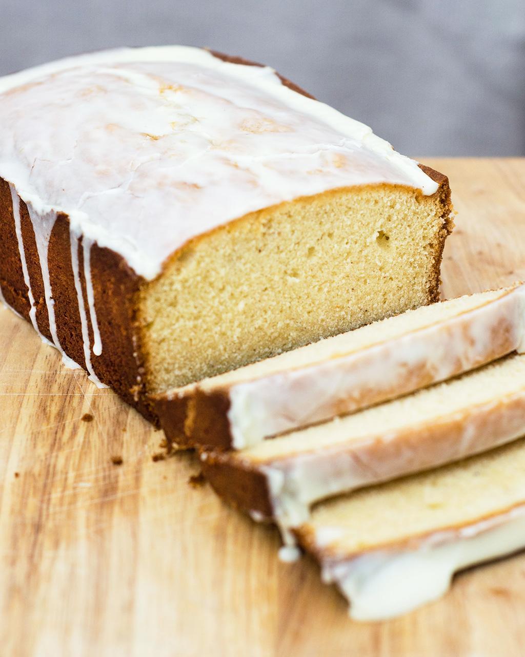 Homemade Eggnog Pound Cake Recipe