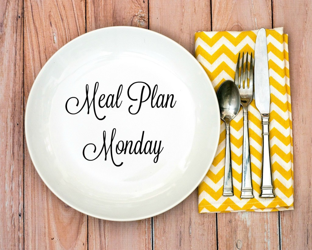 Meal Plan Monday
