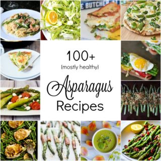 May is peak season for asparagus. I've compiled over a hundred different asparagus from fellow food bloggers, so you're bound to find one you like.