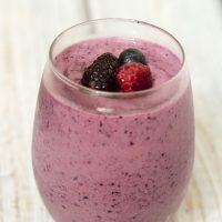 Berry-Vanilla Smoothie