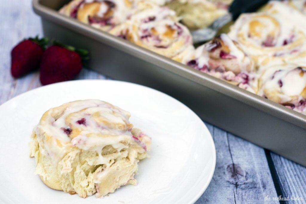 Strawberries-Cream-Sweet-Rolls-theredheadbaker.com