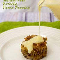 Vanilla-Pear Brioche Bread Pudding #ProgressiveEats