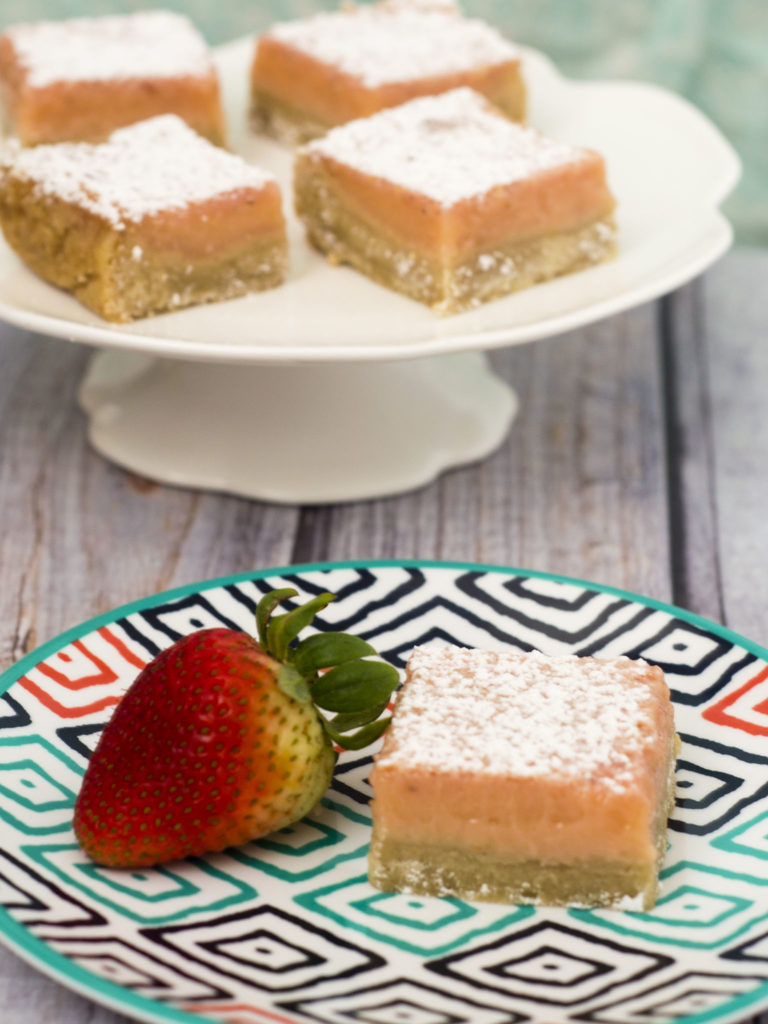 Strawberry lemon bars are a sweet twist on a tart classic bar cookie ...