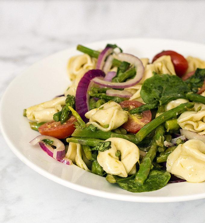 Tomato Tortellini Salad