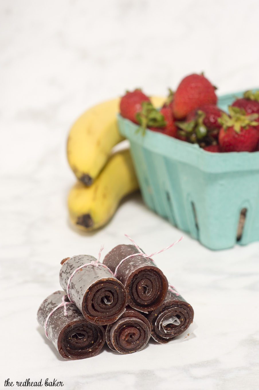 It's so easy to make the fruit leather rolls we remember from our childhood, and the sky's the limit for fruit flavor combinations!