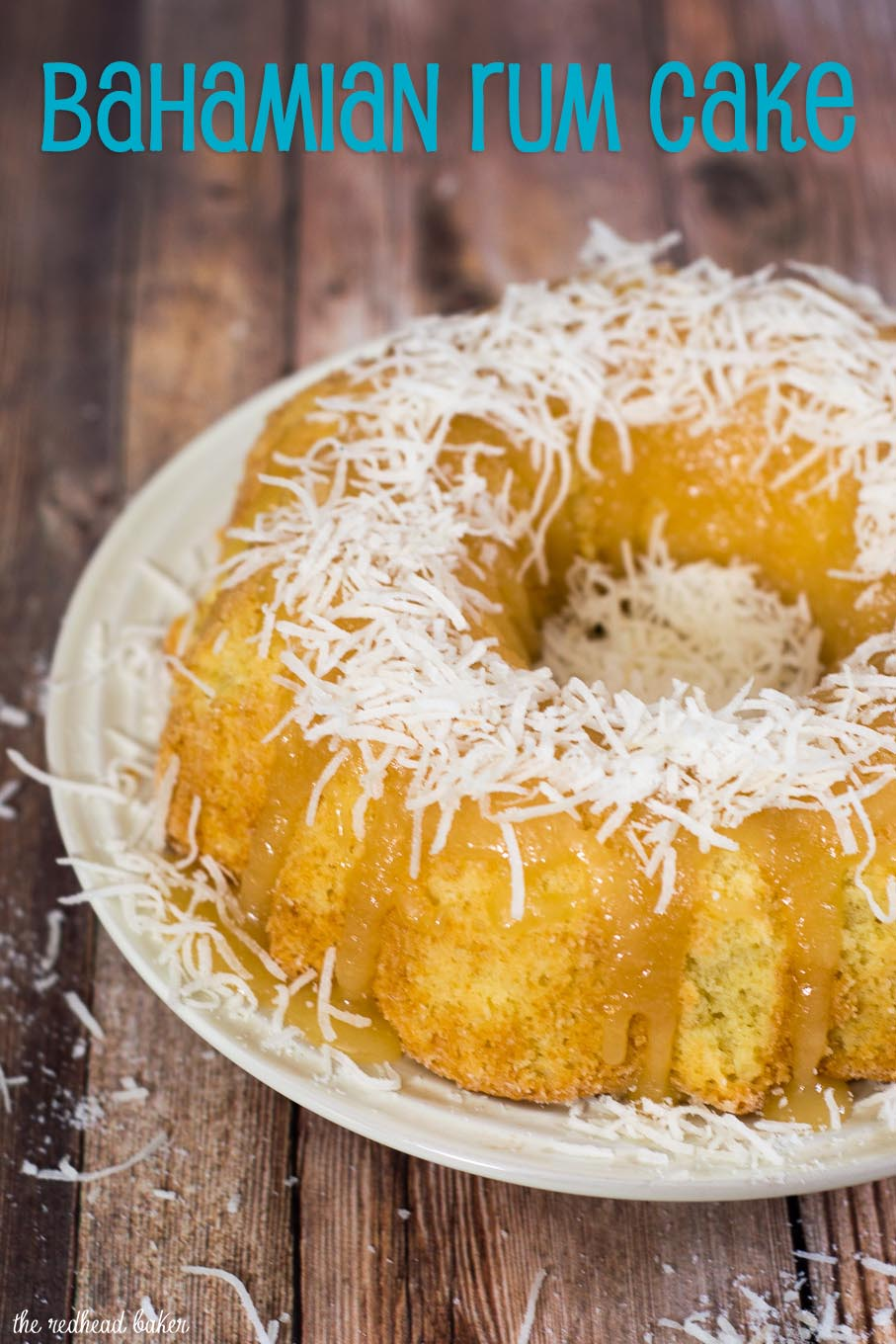 Since most of the world's rum is produced in the islands of the Caribbean, the liquor is found in many dishes native to The Bahamas. One of those is rum cake, a buttery treat with a strong rum flavor. #ProgressiveEats