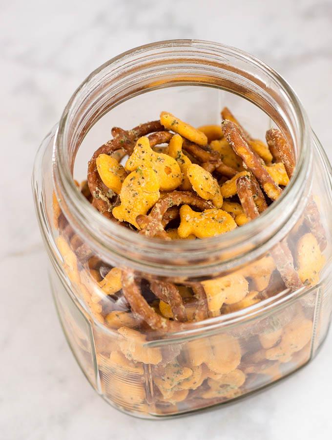 Ranch Goldfish Snack Mix