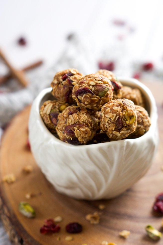 Fruit & Nut Trail Mix Energy Bites by With Salt and Wit