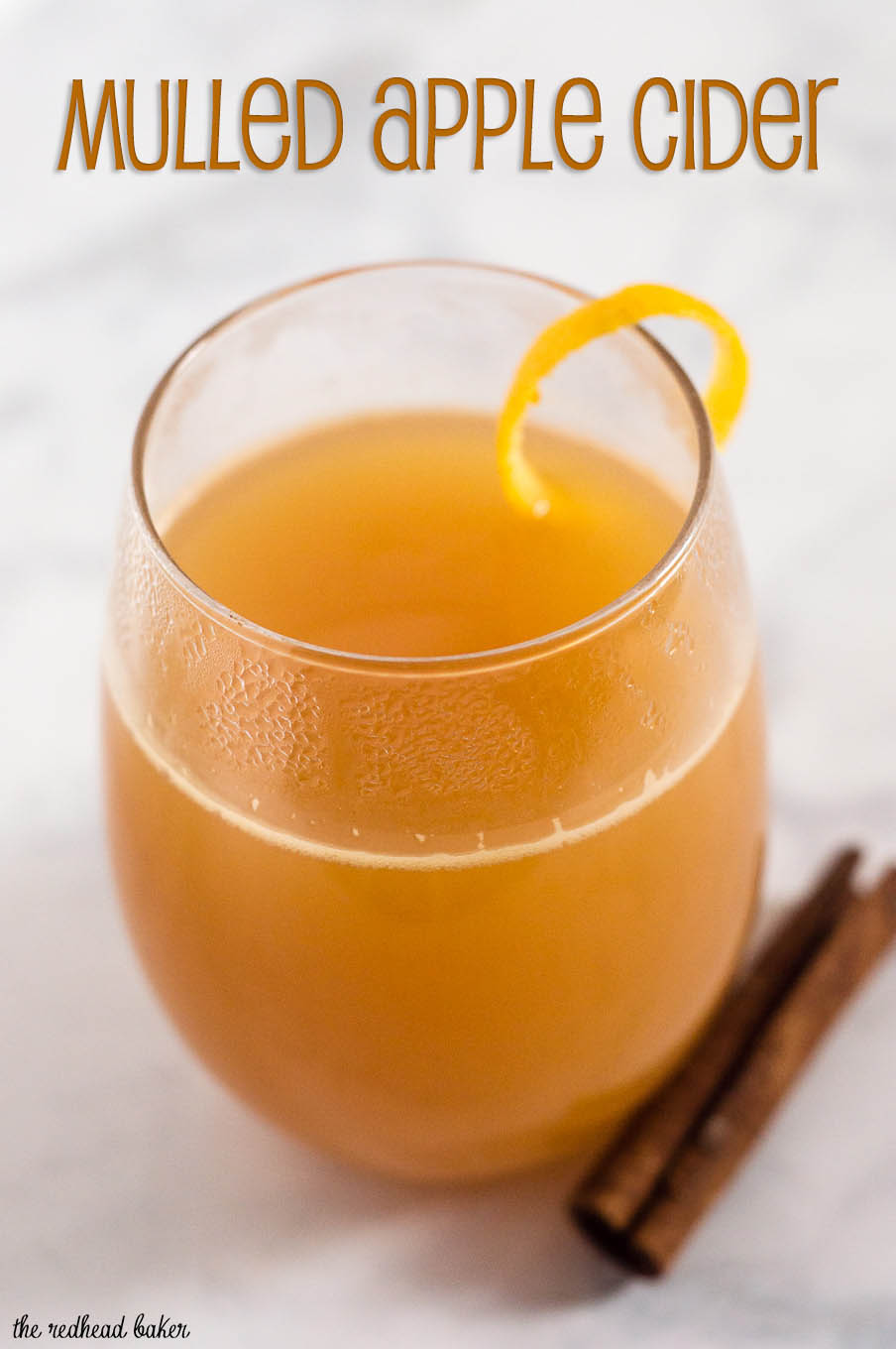 Welcome fall with mulled cider, apple cider infused with the flavors ...