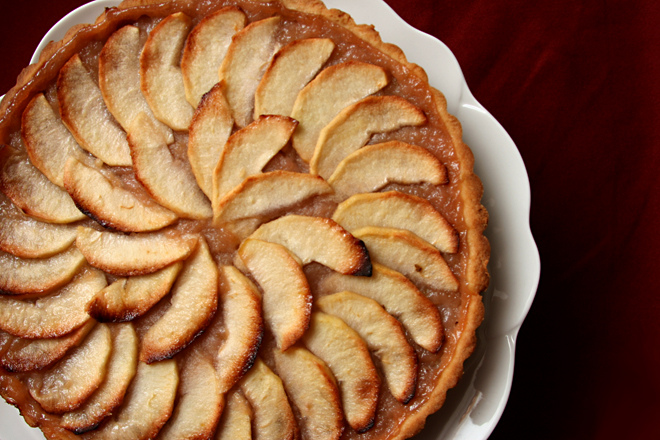 Normandy Apple Tart by The Way the Cookie Crumbles