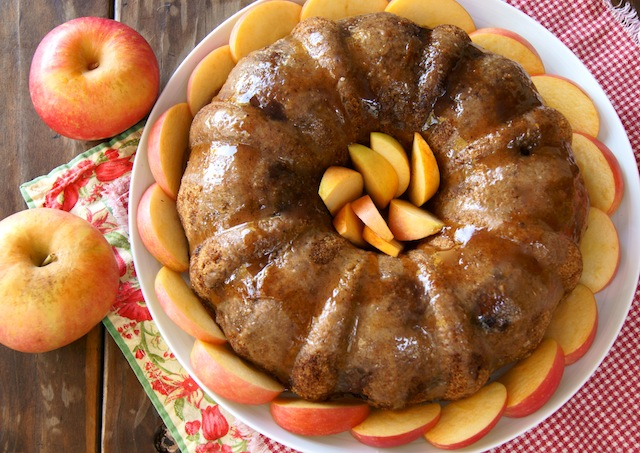 Fall Chai Spiced Apple Cake by Cooking on the Weekends