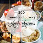 From breakfast to dessert, from sides to cocktails, here are 200 sweet and savory apple recipes from around the blogosphere.
