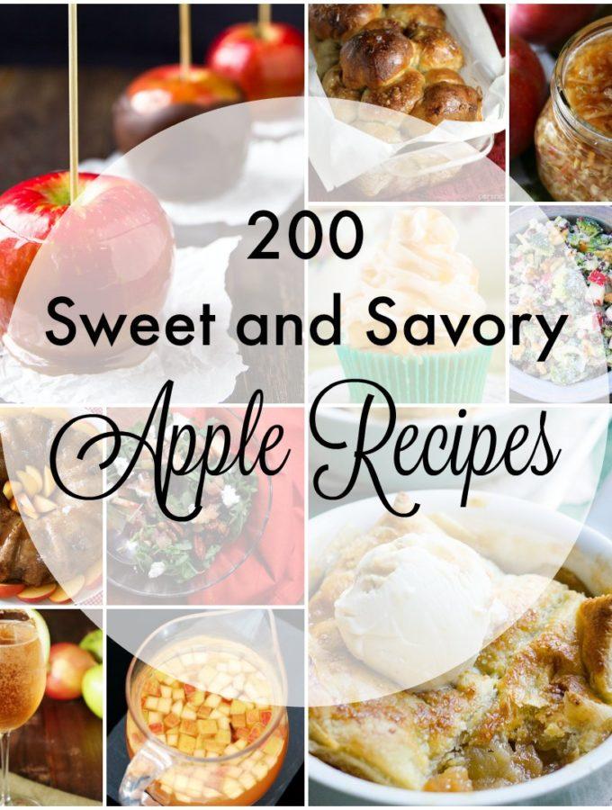 200 Apple Recipes