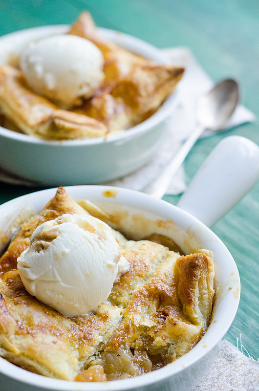 Bourbon Apple Pot Pies by Pink Parsley