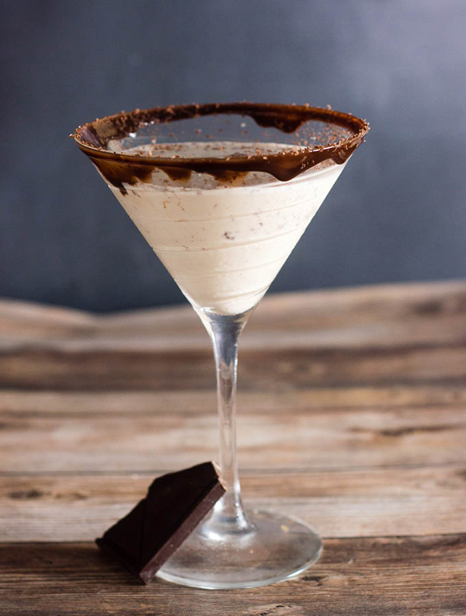 Chocolate Martini #Choctoberfest