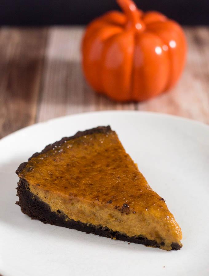 Pumpkin Brulee Tart #PumpkinWeek