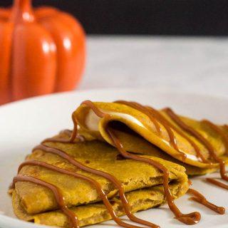 Pumpkin Crepes #PumpkinWeek
