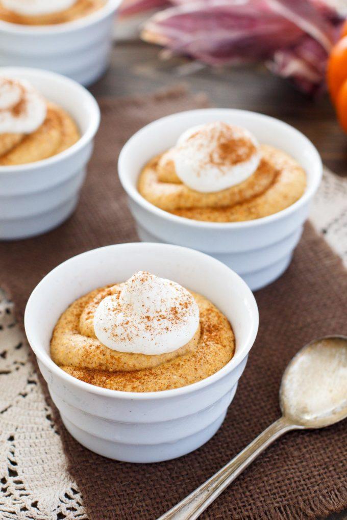 No-Bake Pumpkin Cheesecake Mousse by Snixy Kitchen
