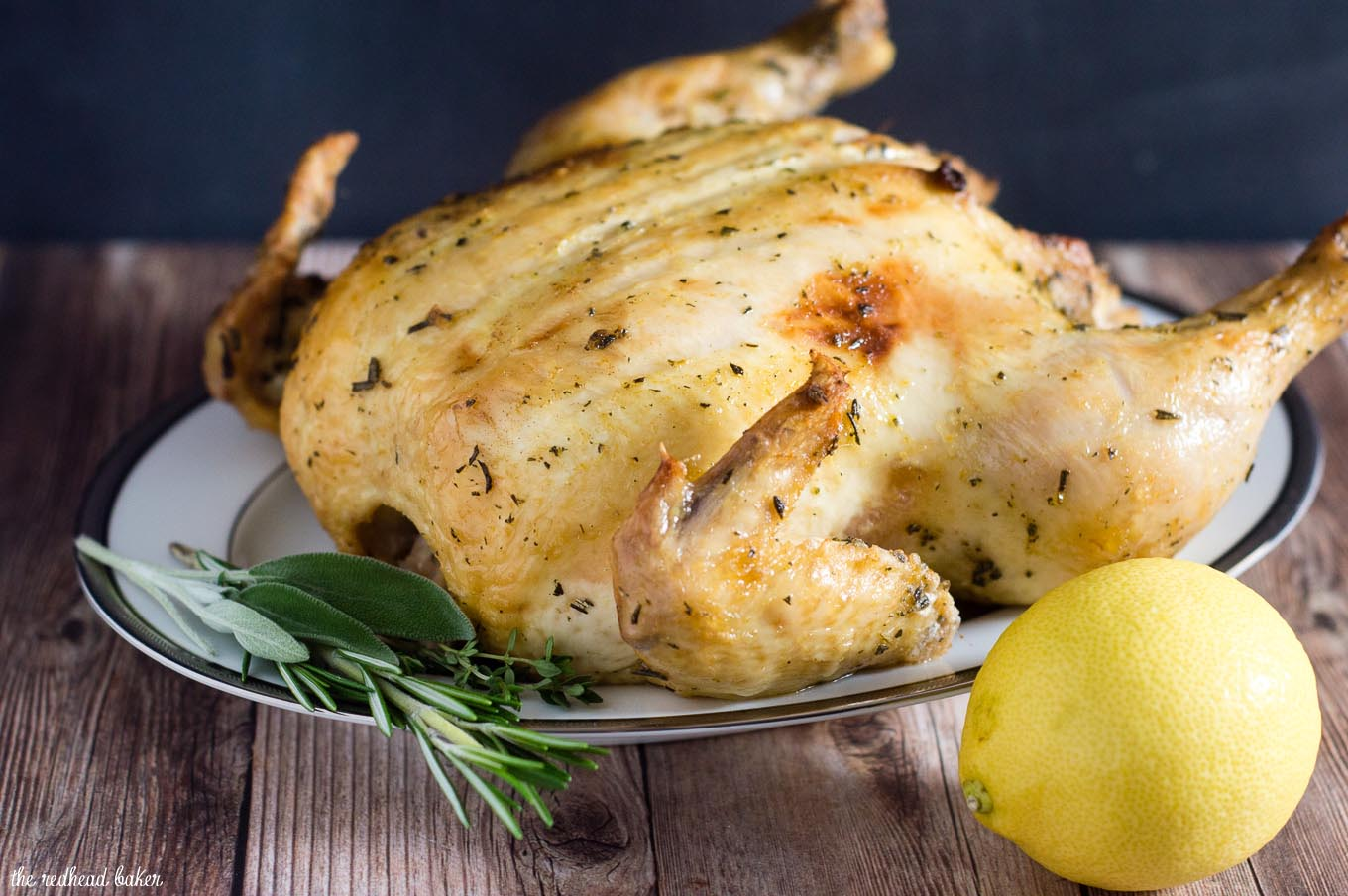 Herb Brined Turkey Recipe — Dishmaps