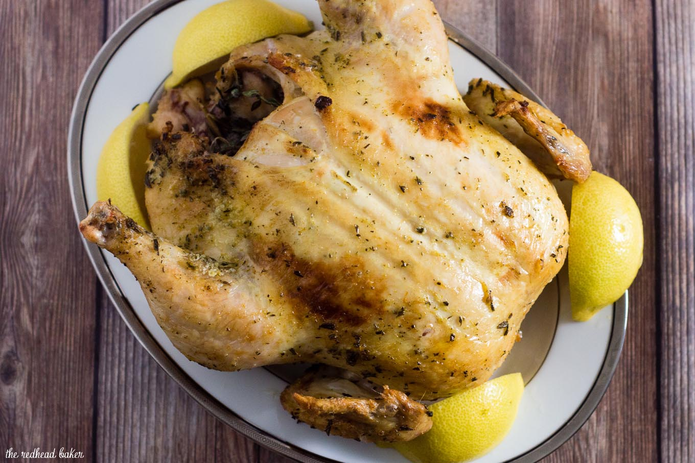 Herb-and-Citrus Dry-Brined Turkey imparts all of the flavor of a traditional wet brine without the hassle and refrigerator space. So little effort for so much reward!