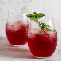 Pomegranate Green Tea Mojitos