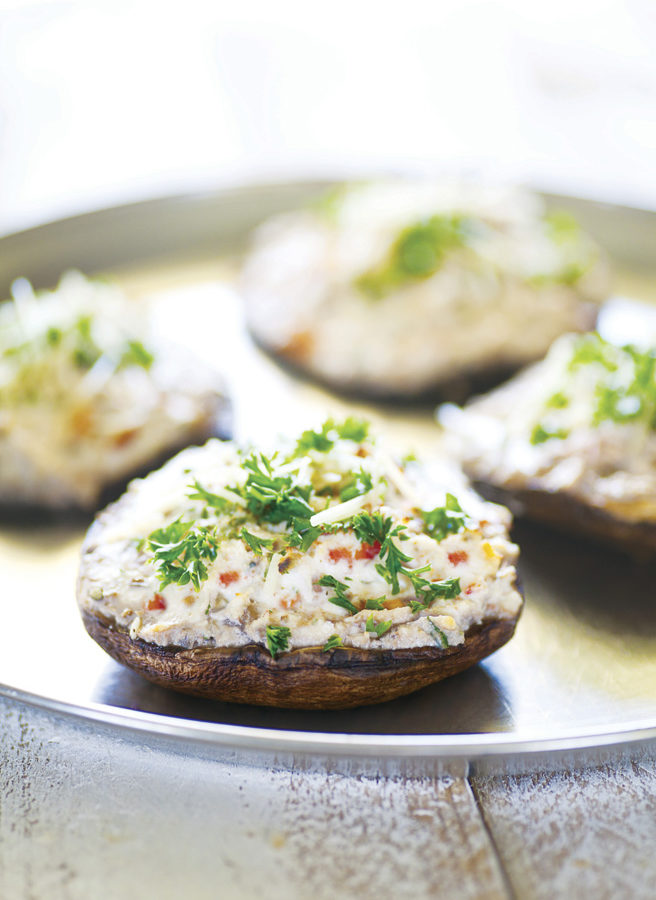 Stuffed Mushrooms and Paired Cookbook Review
