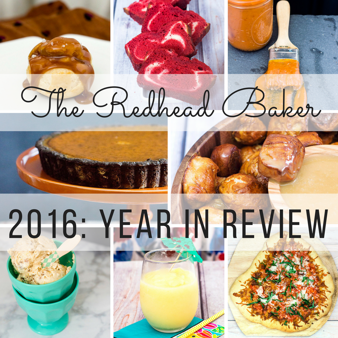 Best of The Redhead Baker: 2016