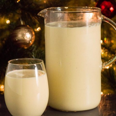 Traditional Homemade Eggnog