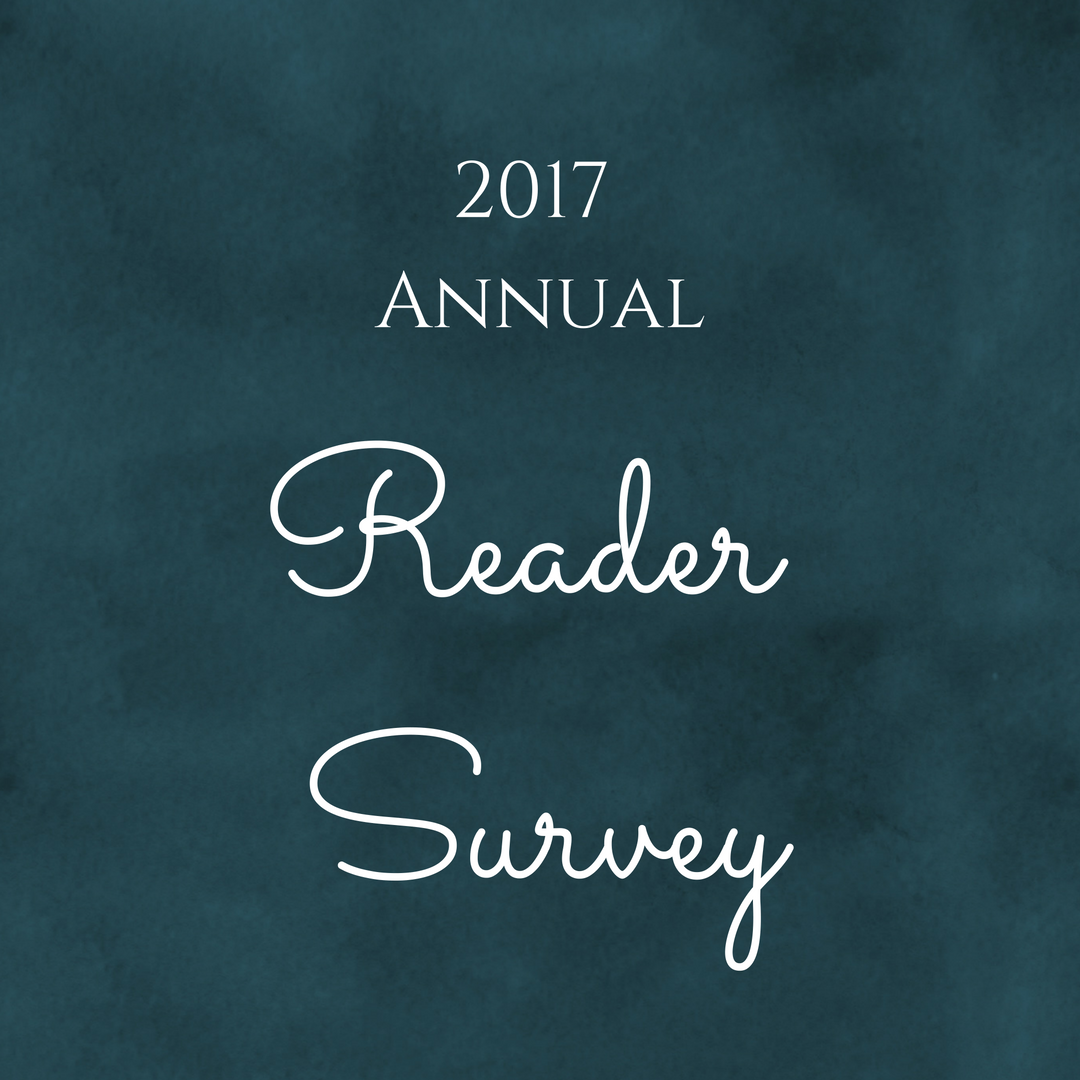 The 2017 Annual Reader Survey