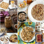 January is National Oatmeal Month. I've rounded up 40 oatmeal recipes from healthy to indulgent, including conventional, slow cooker, baked and overnight oatmeal.