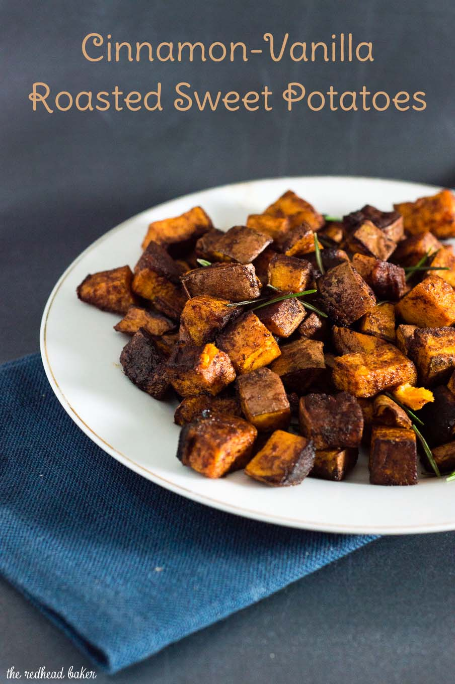 Cinnamon vanilla roasted sweet potatoes are a different, delicious way ...