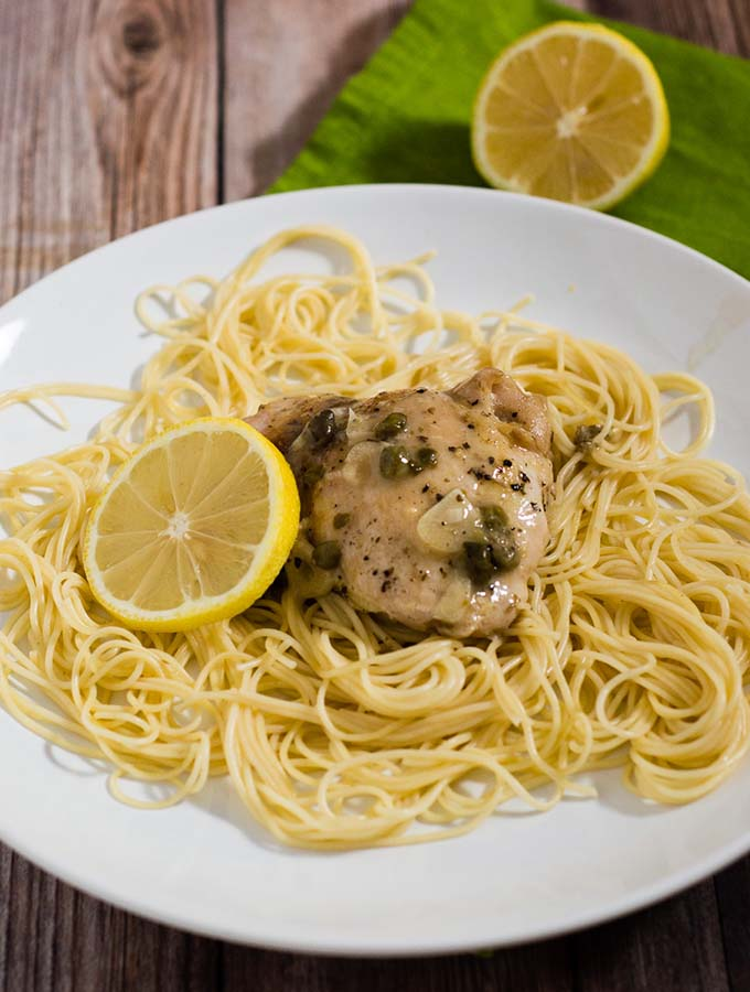 Quick Chicken Piccata #SundaySupper