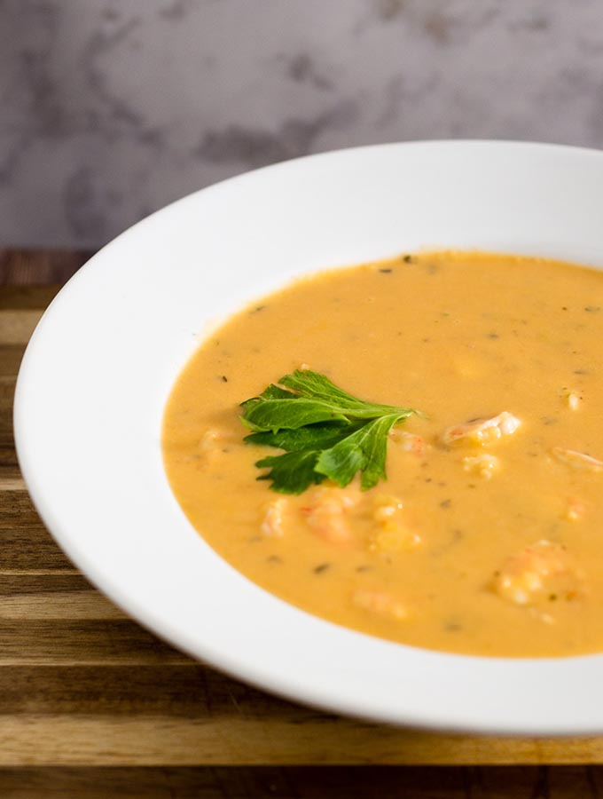 Thai Shrimp Bisque