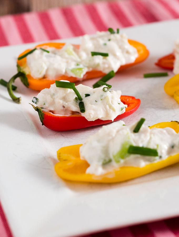 Crab-Stuffed Mini Peppers