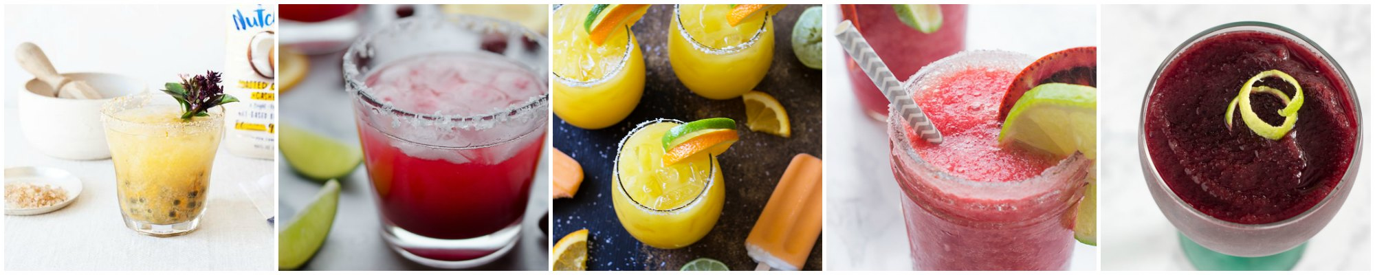 Try one or two of these margarita recipes on National Margarita Day, Wednesday, February 22nd. From classic to fruity, frozen to spicy, this list is a margarita lover's dream!