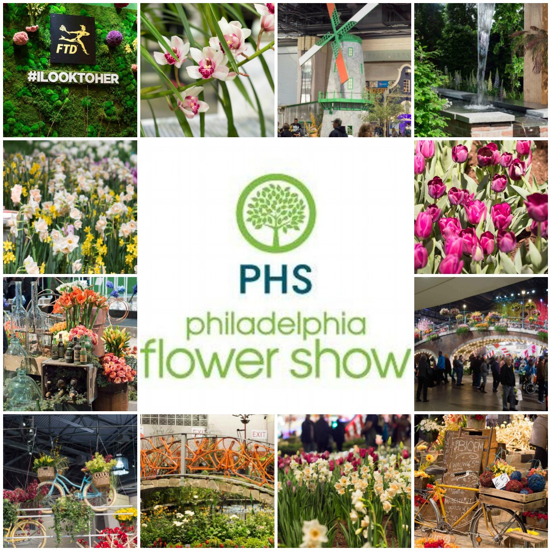 A Peak at the 2017 Philadelphia Flower Show by The Redhead Baker