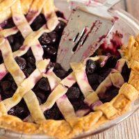 Drunken Cherry Vanilla Pie