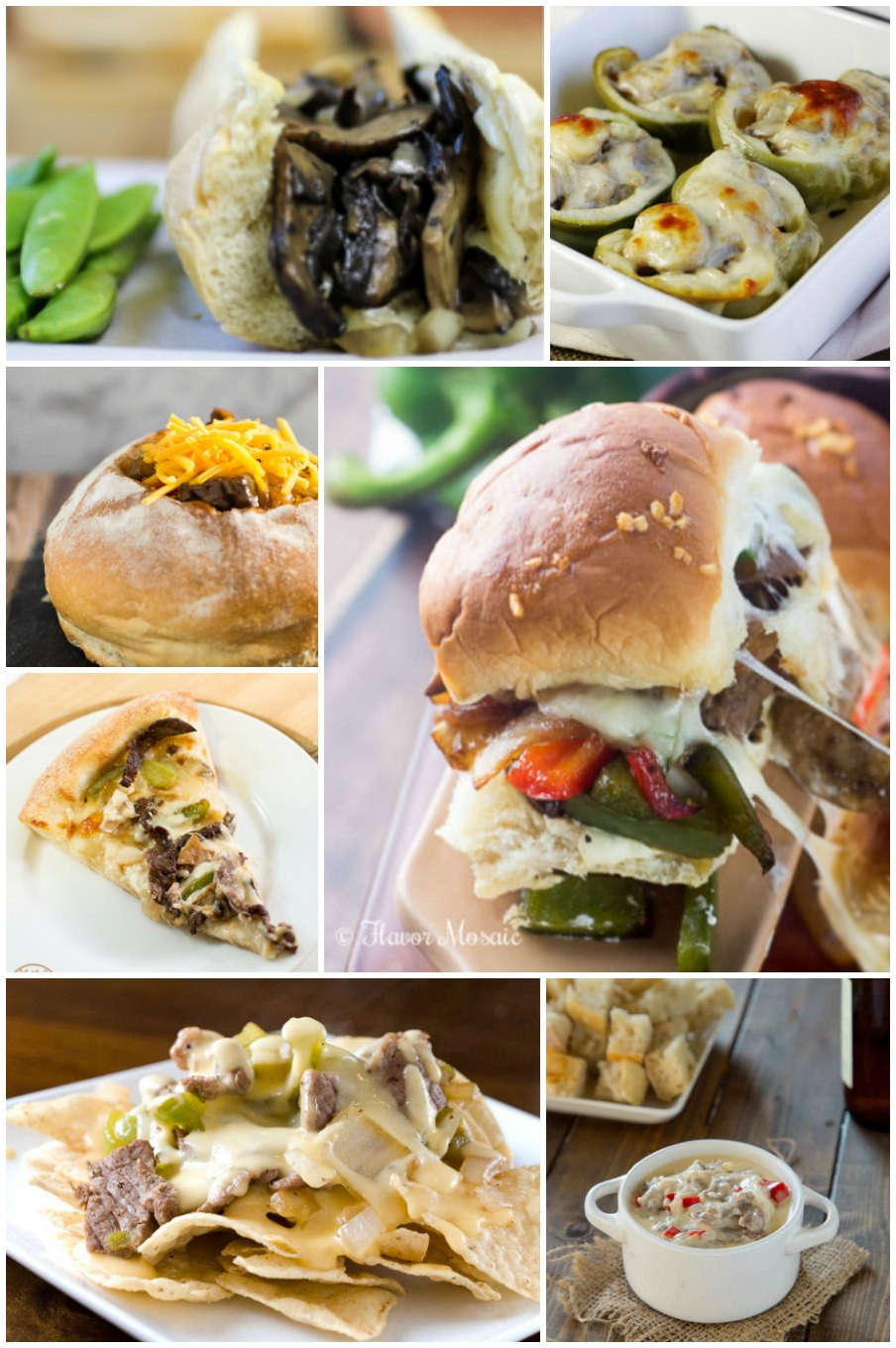 Thursday, March 24th is National Philadelphia Cheesesteak Day! To celebrate, try one of these 25 variations on the city's iconic sandwich.