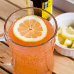 Make a pink lemonade shandy, a beer-based cocktail that blends wheat beer with strawberry- or raspberry-flavored lemonade, for your next spring party.
